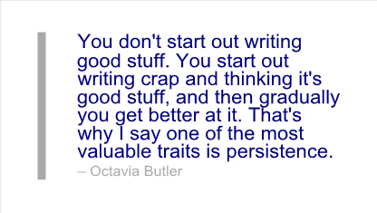 good writers persist